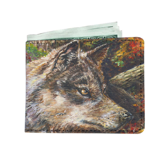 Wolf by Tocher - Men's Wallet