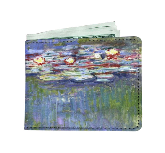 Water Lilies by Monet - Men's Wallet
