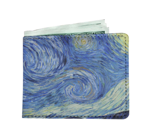 Starry Night by van Gogh - Men's Wallet