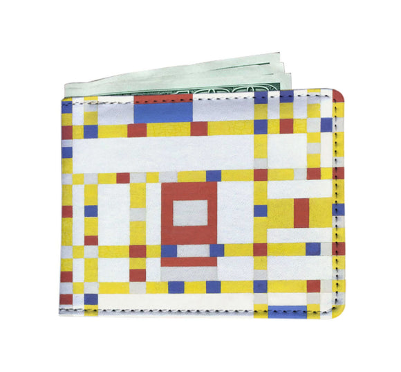 Broadway Boogie Woogie by Mondrian - Men's Wallet
