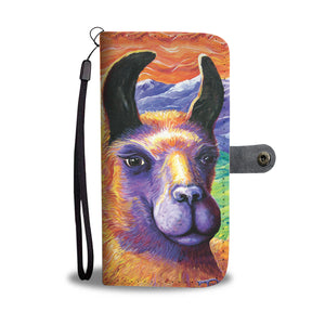 Llama by Tocher - Wallet Phone Case