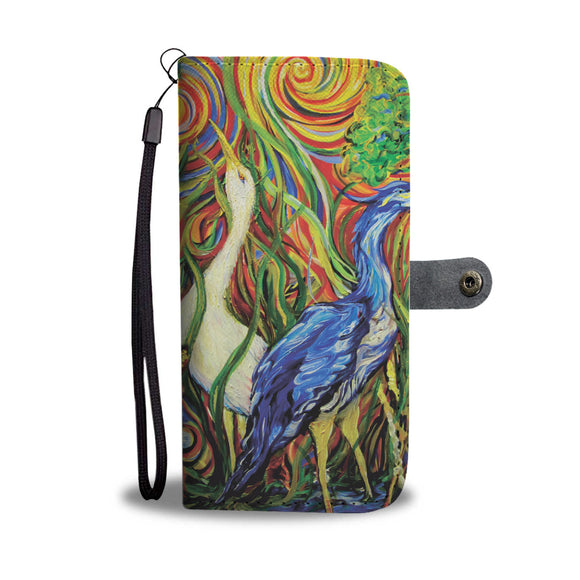 Wetlands 2 by Tocher - Wallet Phone Case