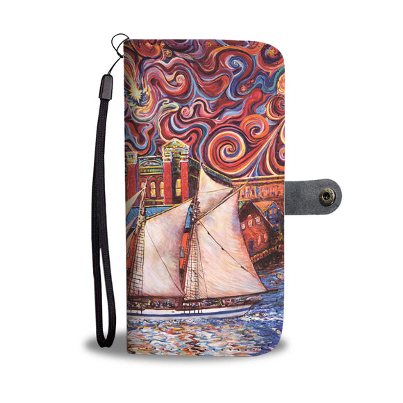 Port Townsend State of Mind by Tocher - Wallet Phone Case
