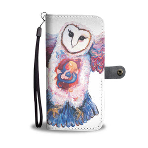 Owl Spirit by Tocher - Wallet Phone Case