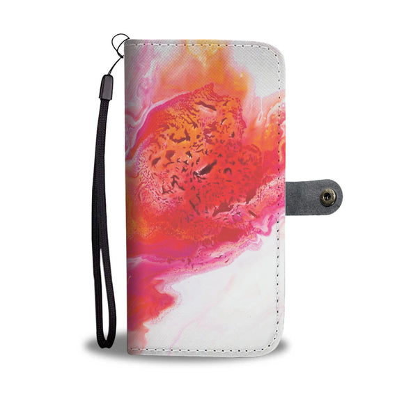Comet's Fire by DeScala - Wallet Phone Case