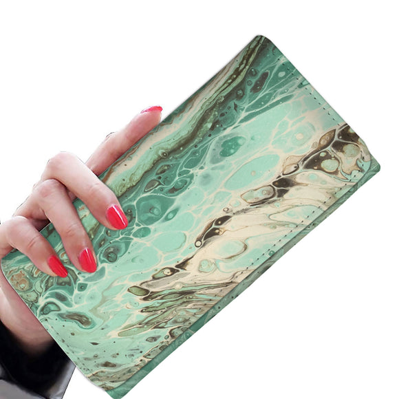 Mint Jubilee by DeScala - Women's Wallet Clutch
