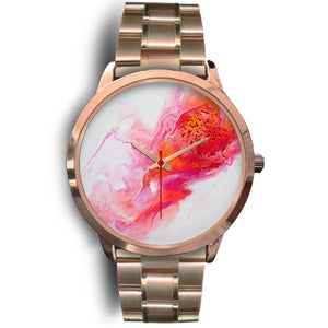 Comet's Fire by DeScala - Rose Gold Watch