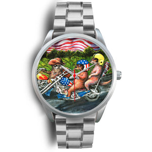 Easy Otter by Tocher - Silver Watch