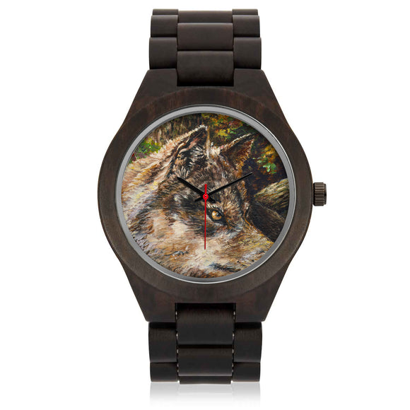 Wolf by Tocher - Sandalwood Watch