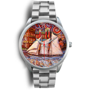 Port Townsend State of Mind by Tocher - Silver Watch