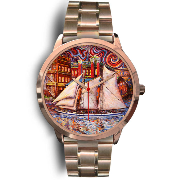Port Townsend State of Mind by Tocher - Rose Gold Watch