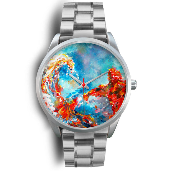Tsunami by Tocher - Silver Watch
