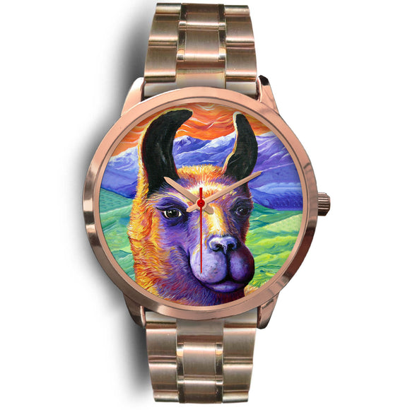 Llama by Tocher - Rose Gold Watch