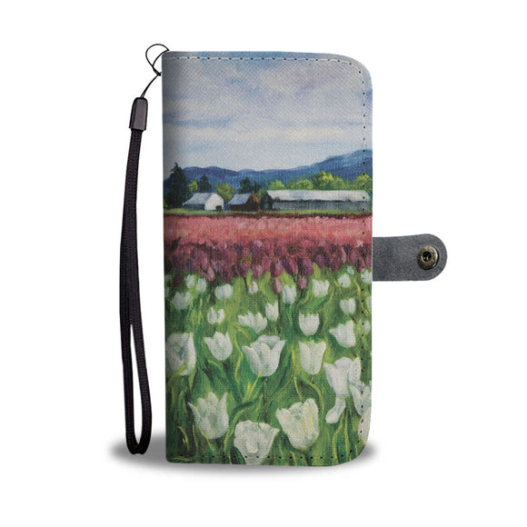 Skagit Tulips by Pierce - Wallet Phone Case