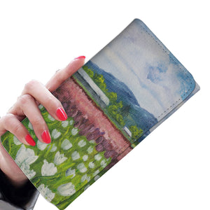 Skagit Tulips by Pierce - Women's Wallet Clutch