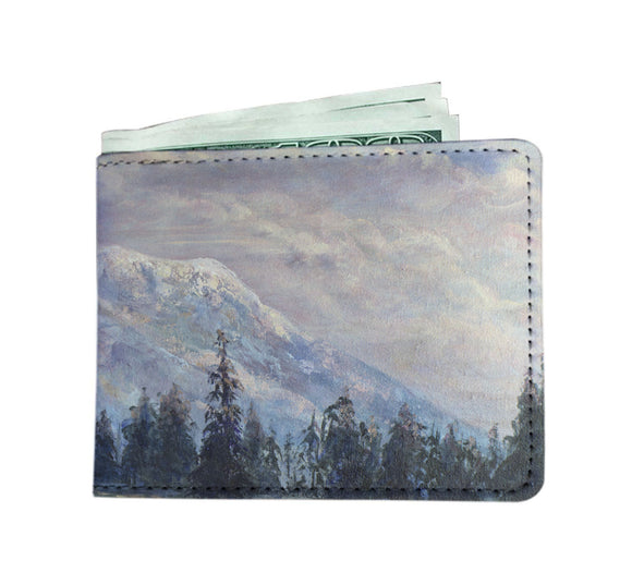 The Pinks of Rainier by Pierce - Men's Wallet
