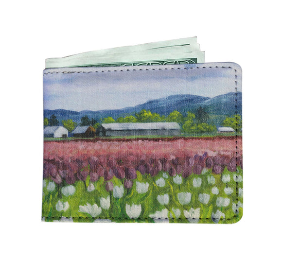 Skagit Tulips by Pierce - Men's Wallet