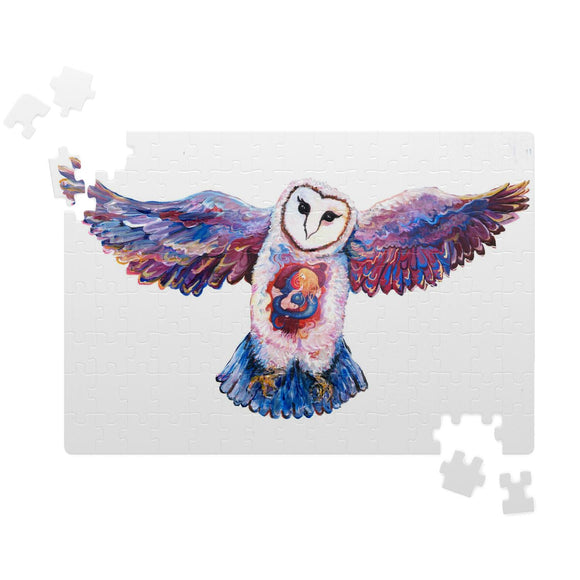 Owl Spirit by Tocher - Jigsaw Puzzles