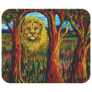 Soul Lion by Tocher - Mousepad