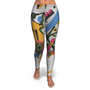 Small Worlds I by Kandinsky - Leggings