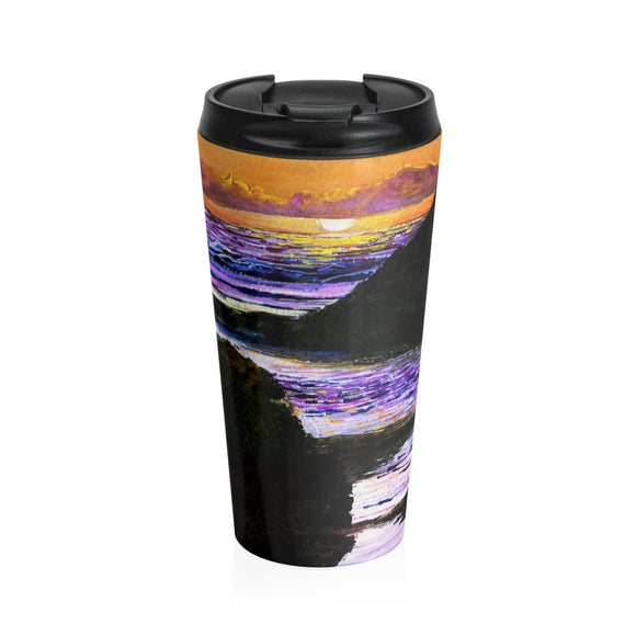 More Pacific by Tocher - Stainless Steel Travel Mug