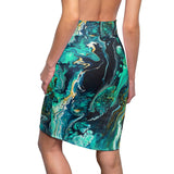 Neptune by DeScala - Women's Pencil Skirt