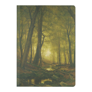 Evening in the Woods by Whittredge - Paperback Journal