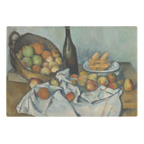 The Basket of Apples by Cezanne - Glass Cutting Board