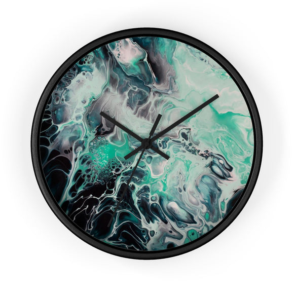 Storm by DeScala Wall clock
