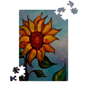 Sunflower by Lumens - Jigsaw Puzzles