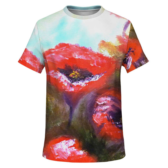 Poppies by Lumens - T-shirt