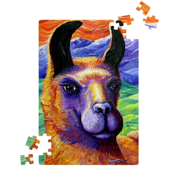 Llama by Tocher - Jigsaw Puzzles