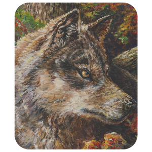 Wolf by Tocher - Mousepad