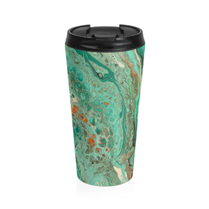 Mint Jubilee by DeScala - Stainless Steel Travel Mug