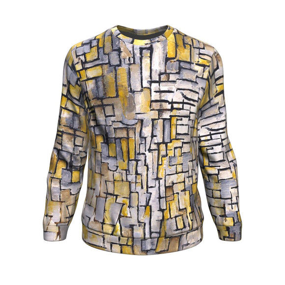 Tableau 2 Composition VII by Mondrian - Sweatshirt