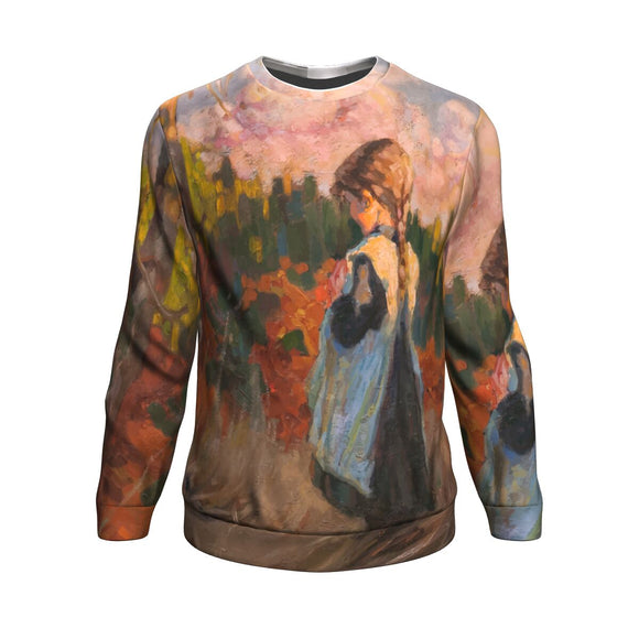 Girl in a Field by Rubio - Sweatshirt