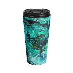 Neptune by DeScala - Stainless Steel Travel Mug