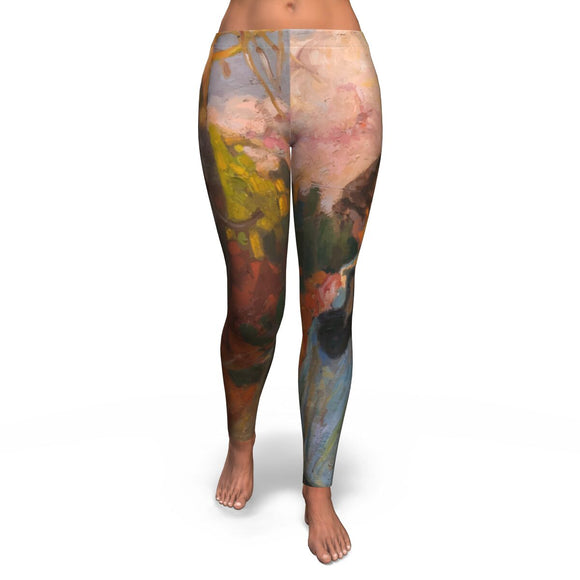 Girl in a Field by Rubio - Leggings