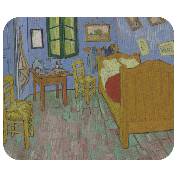 The Bedroom by van Gogh - Mousepad