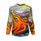 Octopi Port Angeles by Tocher - Sweatshirt