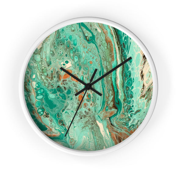 Mint Jubilee by DeScala Wall clock