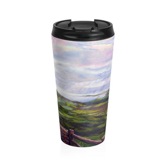 Emerald Isle by Tocher - Stainless Steel Travel Mug