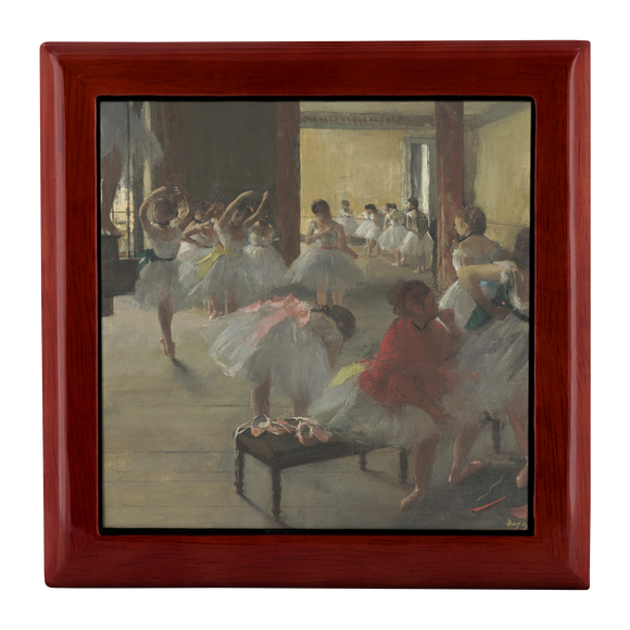 The Dance Class by Degas - Jewelry Box