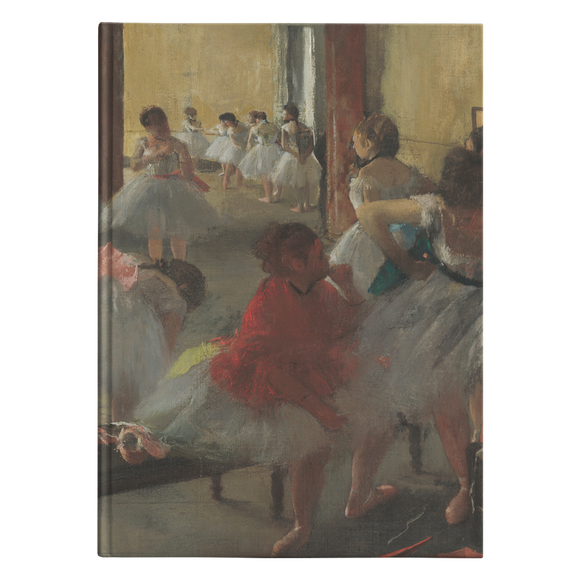 The Dance Class by Degas - Hardcover Journal