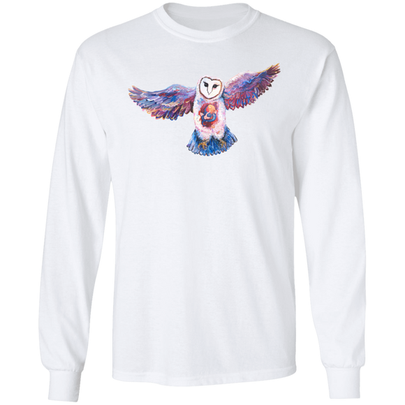 Owl Spirit by Tocher - LS Ultra Cotton T-Shirt