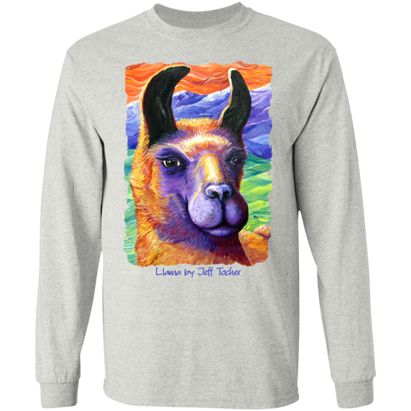 Llama by Tocher - LS Ultra Cotton T-Shirt