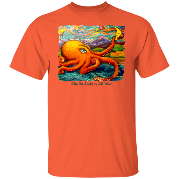 Octopi Port Angeles by Tocher T-Shirt