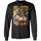 Wolf by Tocher - LS Ultra Cotton T-Shirt