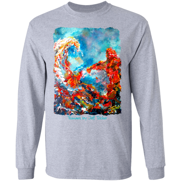 Tsunami by Tocher - LS Ultra Cotton T-Shirt
