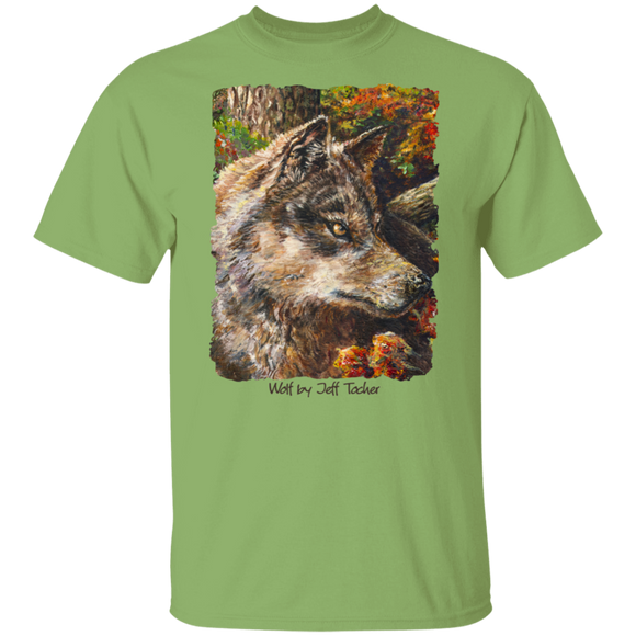 Wolf by Tocher - T-Shirt